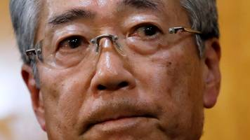 japan 2020 olympics chief quits over corruption allegations