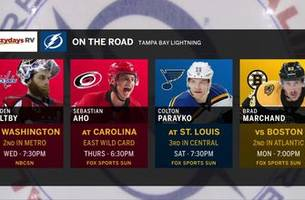 lightning, capitals clash in matchup of nhl powerhouses