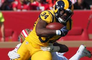 Lions sign Rams RB Malcolm Brown to offer sheet