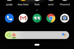Google Doodles are showing up on the Pixel home screen search bar