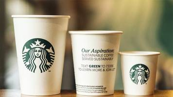 starbucks will test 'greener,' recyclable cups in stores soon