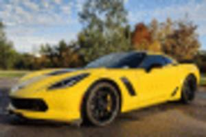 rent to own: hertz ready to sell its 100th anniversary chevy corvette z06 models