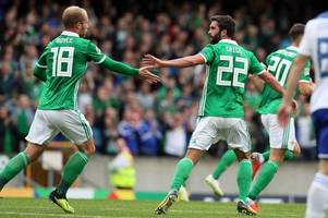 sunderland's will grigg out of northern ireland duty with injury
