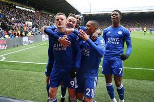 leicester city's 36 first-team players' summer transfer fates revealed