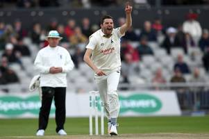 harry gurney will no longer play in the county championship after signing new nottinghamshire contract