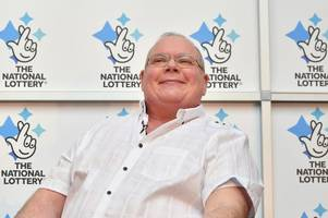 £71 million euromillions jackpot winner ade goodchild is 'happiest bloke you could imagine'