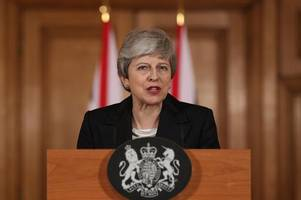 it's parliament's fault: every word of theresa may's extraordinary statement on brexit delay
