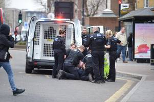 Police make dramatic Brentwood High Street arrest as TOWIE stars film nearby
