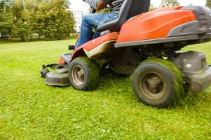 somerset pensioner rescued after 'becoming trapped under ride-on lawnmower'