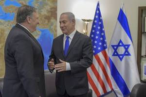 pompeo, netanyahu vow to increase pressure against iran
