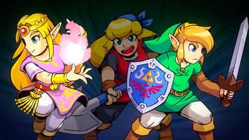 the legend of zelda meets crypt of the necrodancer in new rhythm game, cadence of hyrule