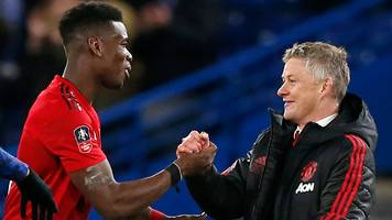 'of course we want him to stay' - pogba backs solskjaer for man utd job