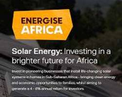 Energise Africa launches UK crowd campaign to raise funds for solar in Africa