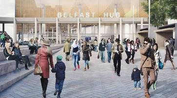 New £175m Belfast Transport Hub given green light by Stormont department