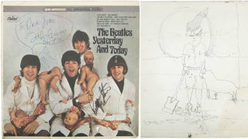 john lennon's rare beatles 'butcher' record to be sold