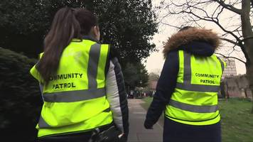 parents patrol london streets to fight crime