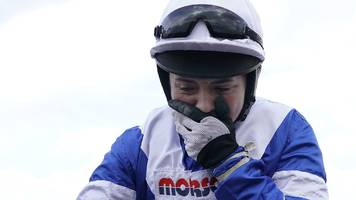 Bryony Frost: Broken collarbone rules Cheltenham winner out of Grand National