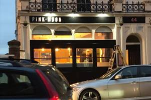 the signs are up - exeter's new restaurant and bar is opening soon