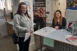 apprenticeship opportunities showcased at jobcentre event in scunthorpe