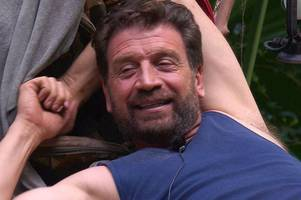 diy sos star nick knowles on i'm a celebrity... secrets and jungle whatsapp group