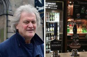 wetherspoon boss tim martin signs petition to save one of his staffordshire pubs from closure (and 1,012 of you agree with him)