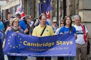 Brexit: More than 20,000 people in Cambridgeshire sign petition to revoke Article 50