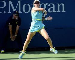 china's tennis player zheng loses in opening round at miami open