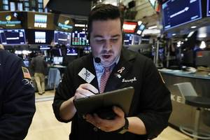 markets right now: tech leads us stocks broadly higher