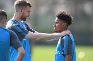reiss nelson reveals the 'direct' advice per mertesacker has given him during hoffenheim loan
