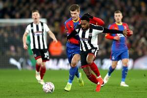 what gent and palace have said about alexander sorloth's future as striker makes pointed remark
