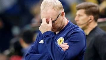 mcleish refuses to discuss his future after humiliating defeat in kazakhstan