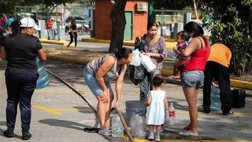 venezuela: 'there is simply no water'