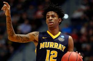 cris carter and nick wright impressed with ja morant's triple-double in murray state's upset over marquette