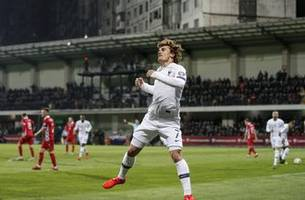 france opens euro 2020 qualifying with 4-1 win at moldova