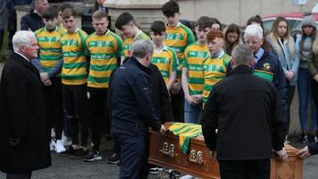 in pictures: cookstown crush victims laid to rest
