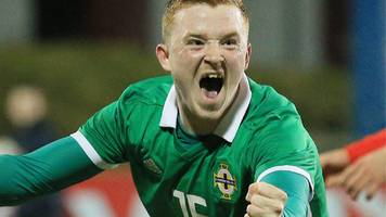shayne lavery fires northern ireland under 21s to friendly win over bulgaria