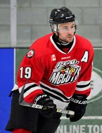 two dundas real mccoys win awards:phil brewer named most gentlemanly player, and guy polillo shares rookie of the year honours