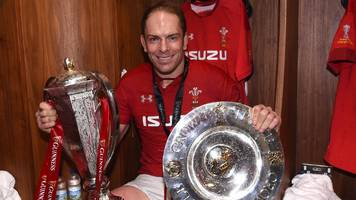 Alun Wyn Jones: Wales captain named Six Nations player of 2019