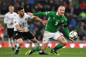 liam boyce is unused substitute as northern ireland start euro 2020 qualifying with win