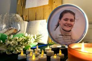 libby squire: tears and prayers in emotional vigil at hull church