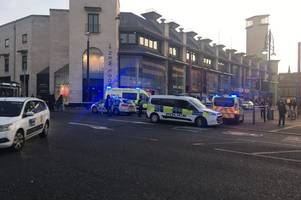 Man arrested in connection with the stabbing of teenager in Leicester city centre