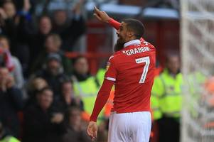 lewis grabban aiming to get right back in the scoring habit with nottingham forest as 20-goal mark looms