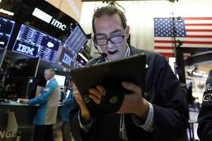 us stocks move broadly lower, led by industrial companies