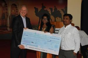 christel house celebrates, new international ceo, bart peterson's visit to india