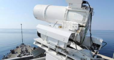 the u.s. military is mounting a giant laser cannon on a destroyer