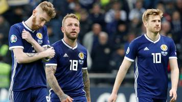 kazakhstan 3-0 scotland: alex mcleish 'let down' by his players - charlie adam