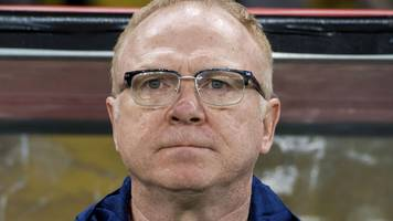 mcleish 'must stay' with scotland - former boss brown