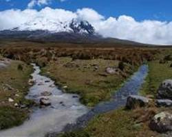 ecuador's indigenous fear for wetlands as glacier recedes