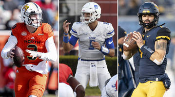 nfl draft notes: a qb sleeper from connecticut, round 1 buzz for grier, gruden loves lock?