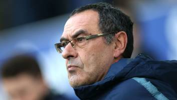 serie a giants lining up move for maurizio sarri if chelsea fire ex-napoli boss